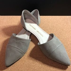 Chinese Laundry • Taupe • D' Orsay Flats • Size 6